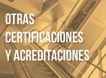 Otras Certificaciones y Acreditaciones - Sistemas de gestion